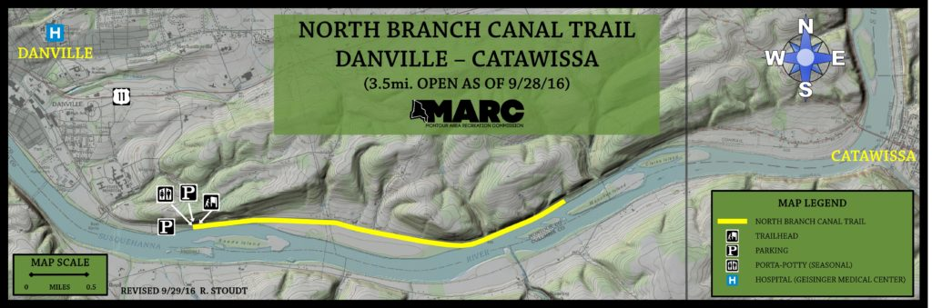 North Branch Canal Trail – MARC – Montour Area Recreation