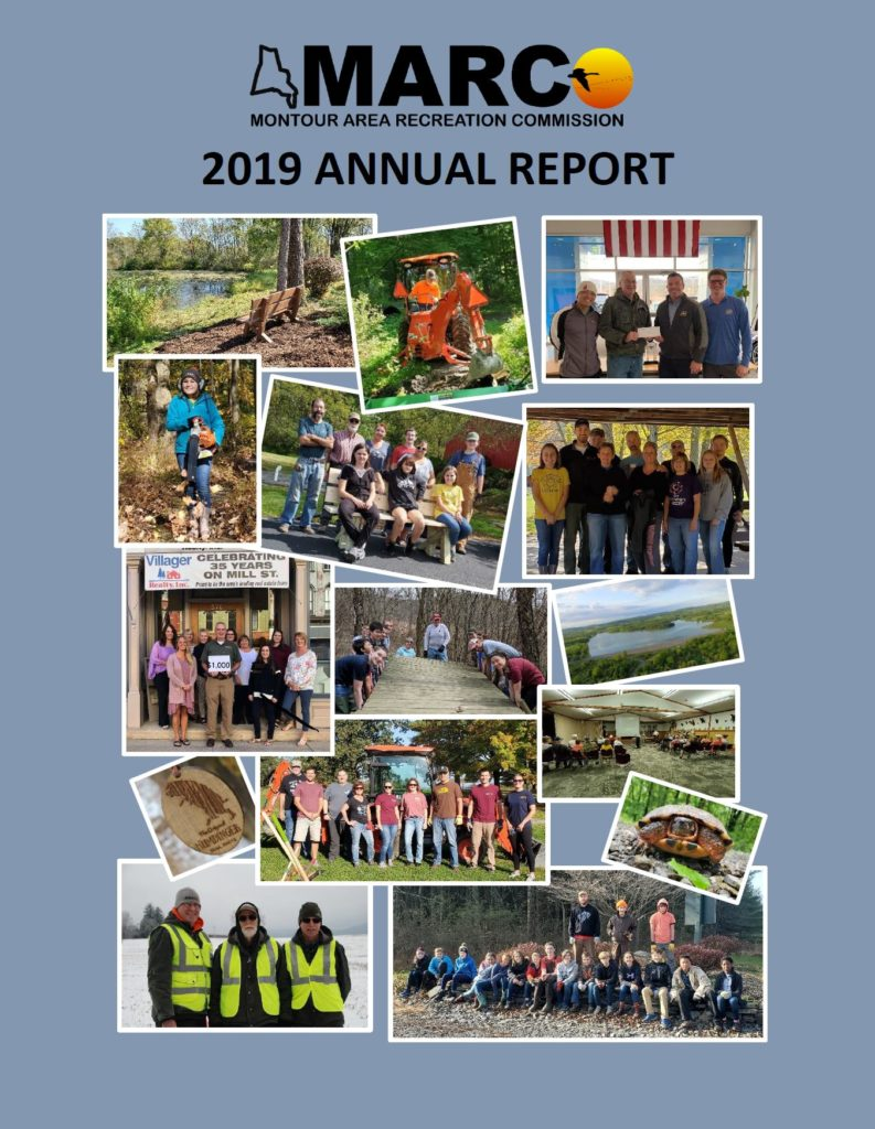 Montour Area Recreation Commission 2019 Annual Report cover image
